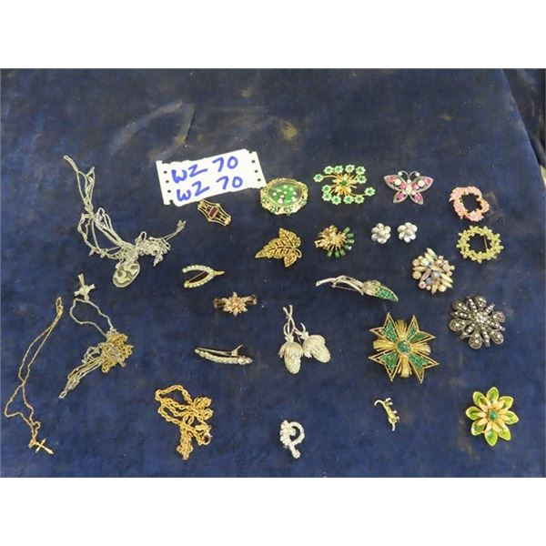 Jewellery- Brooches, & Necklaces