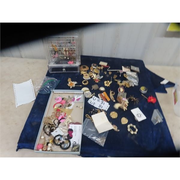 Jewellery- Necklaces, Earrings , Brooches Plus More