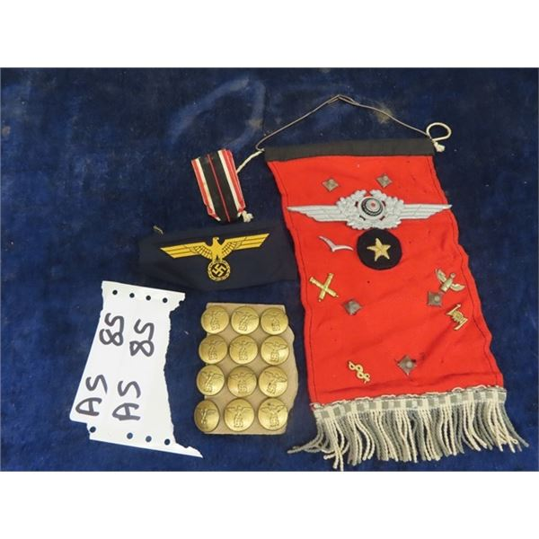 German Military Pins, Badges, Patches & Buttons
