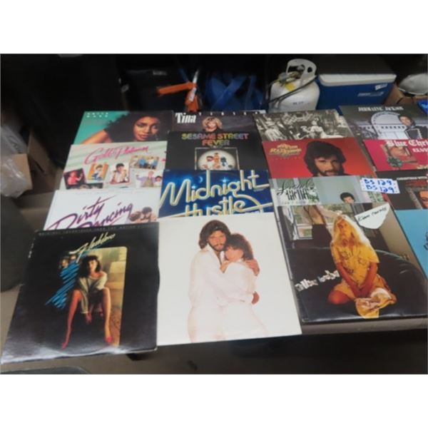 Approx 35 Records - Various- Mainly Pop