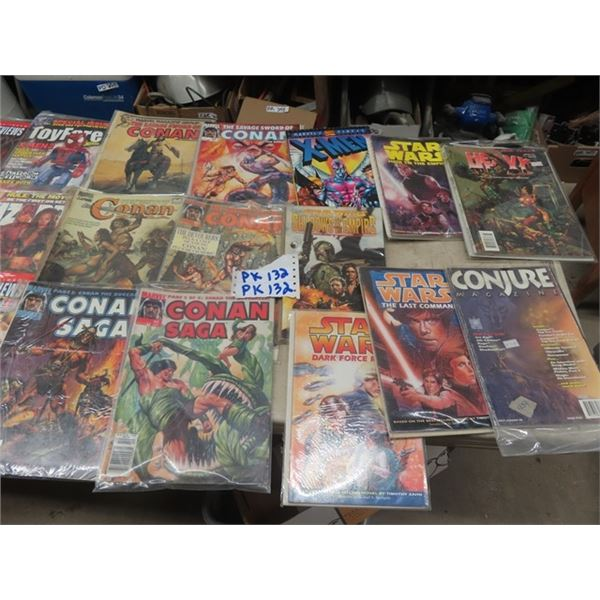 Approx 46 Marvel Comics, Star Wars, MAD, & More