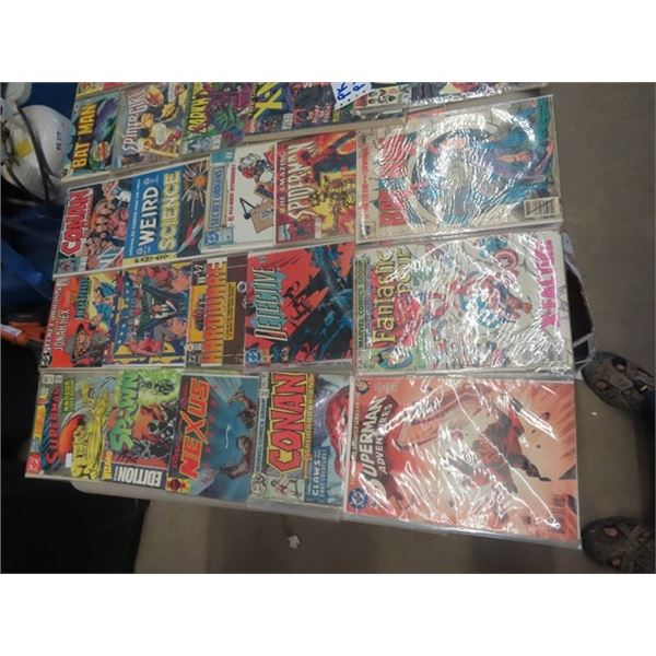 Approx 100 Various Comics- 40 cents & Up DC , Marvel Plus More