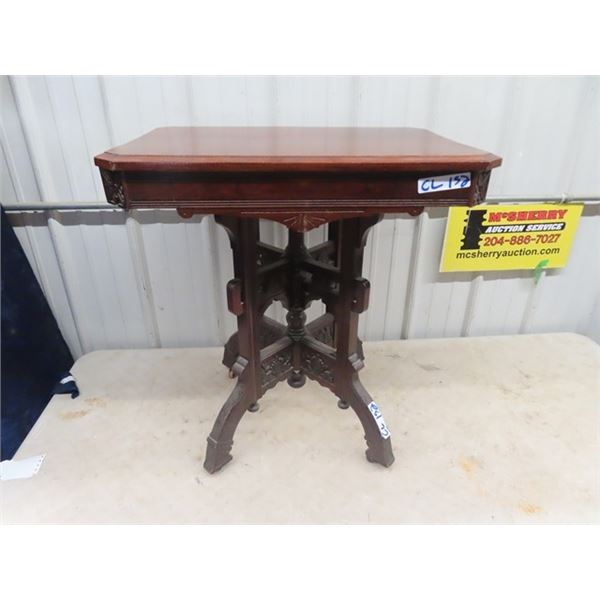 """Eastlake Parlor Stand 29"""" x 27"""" x 17"""""""