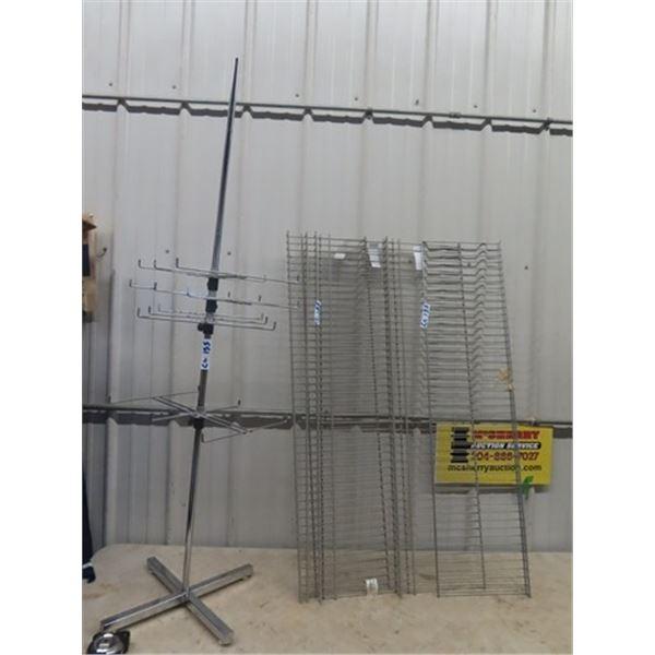 Store Rack & Metal Shelving