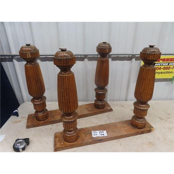 Oak Table Legs