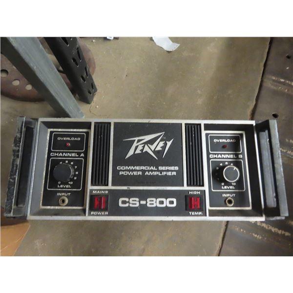 Peavy CS-860 Commercial Series Amplifier