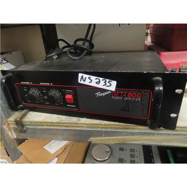 Traynor Beta 800 Amplifier