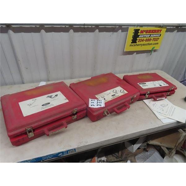 3 Auto Kits (FORD) 1) EDIS Diagnostic Harness 1) T90D-1000-B Essential Service Tool Set 1) TKit 1990