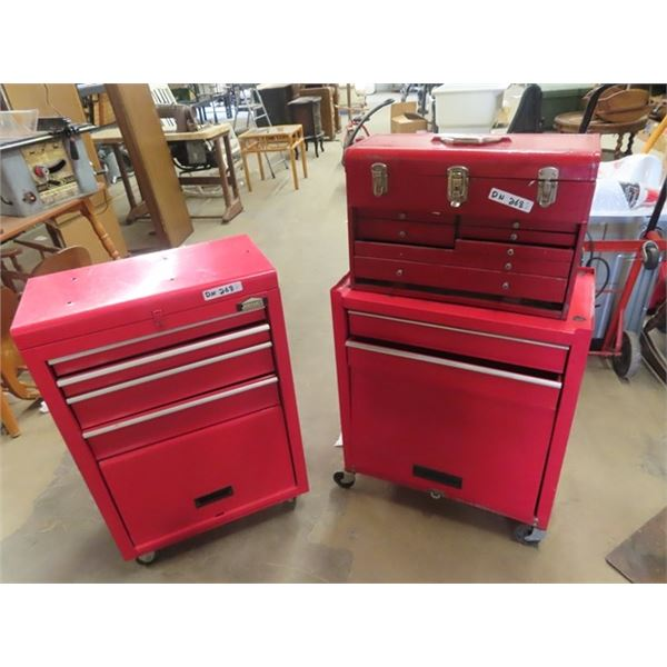 2 Tool Cabinets -1 Jobmate