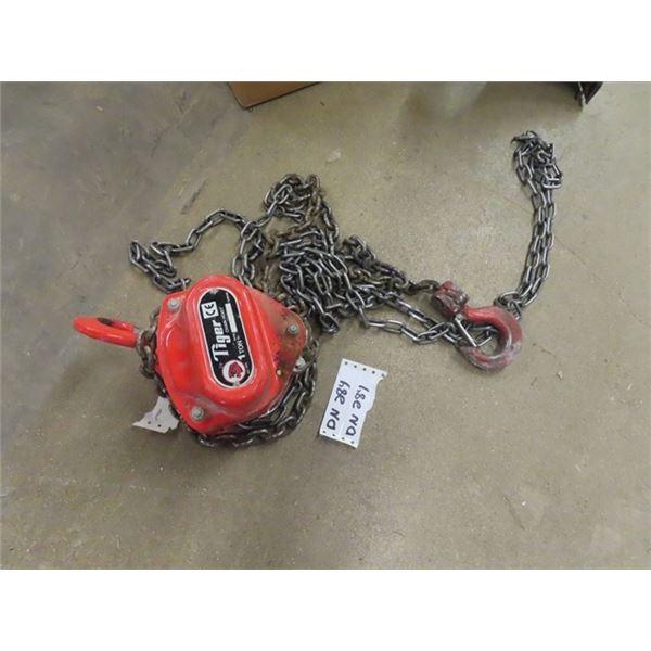 Tiger 1 Ton Chain Hoist