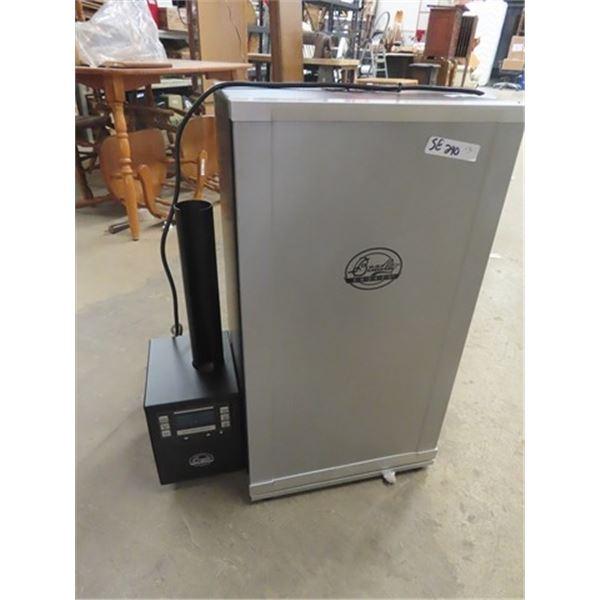 Bradley 4 Rack Elec Digital Smoker -Flavor Briquettes & Pellets - Used only Only Once & Elec Meat Gr
