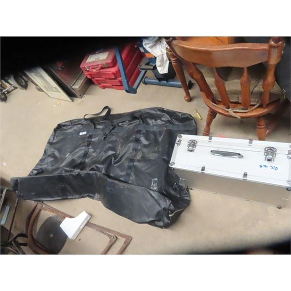 "Optex Alum Case 17 x 21 x 8 & Bike Zippered Bag 39"" x 64"" x 10"""