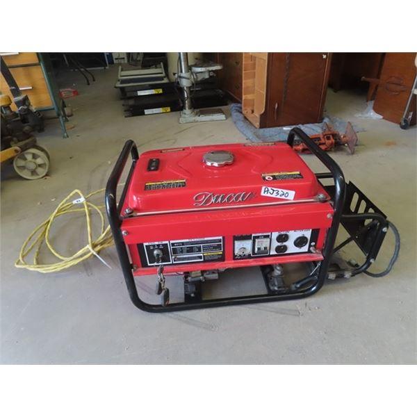Duncan 2.2 KW Generator, w Elec Start & Cord