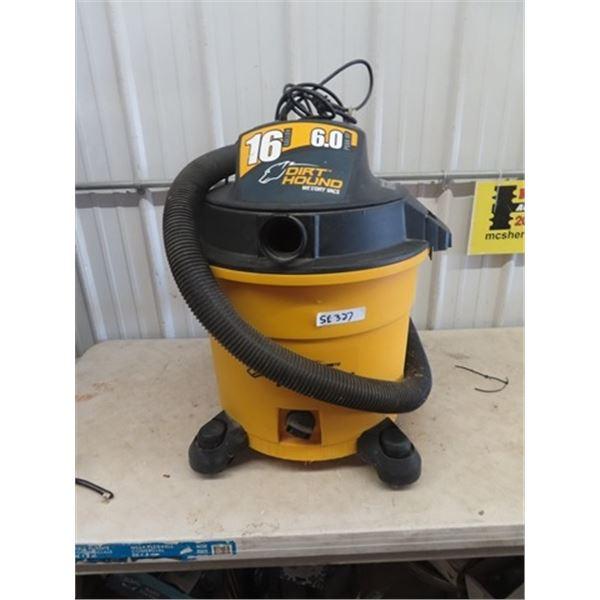 6 HP 16 Gal Dirt Hound Shop Vac