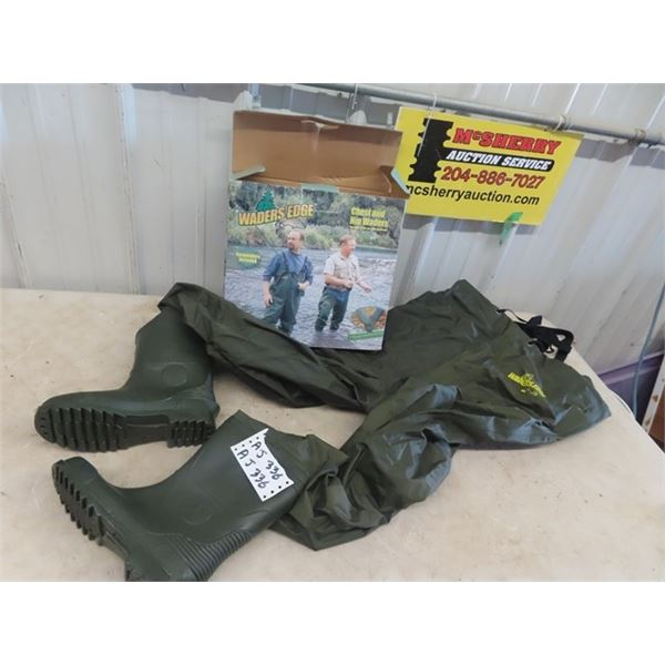 New Chest Wadders Size 9