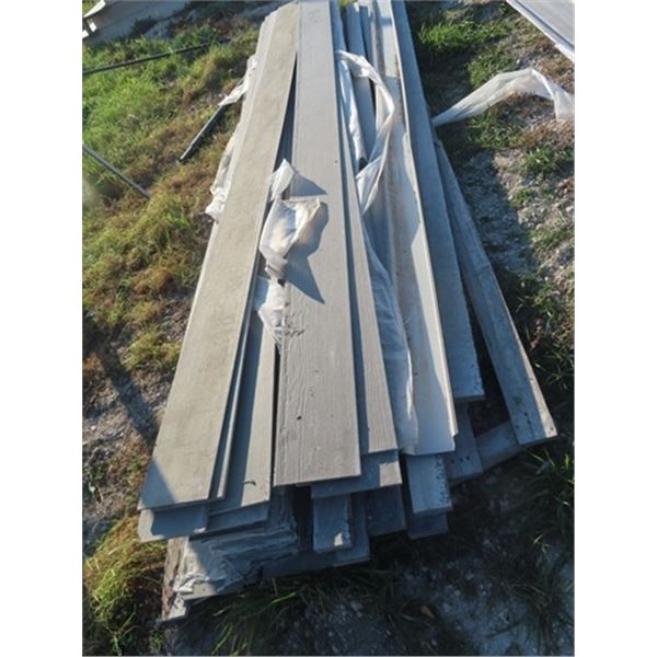 Qty of Hardie Plank 12' Long - One Money for All