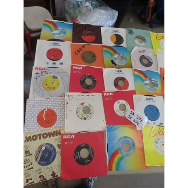 Approx 50 - 80's Pop & Rock 45 Records