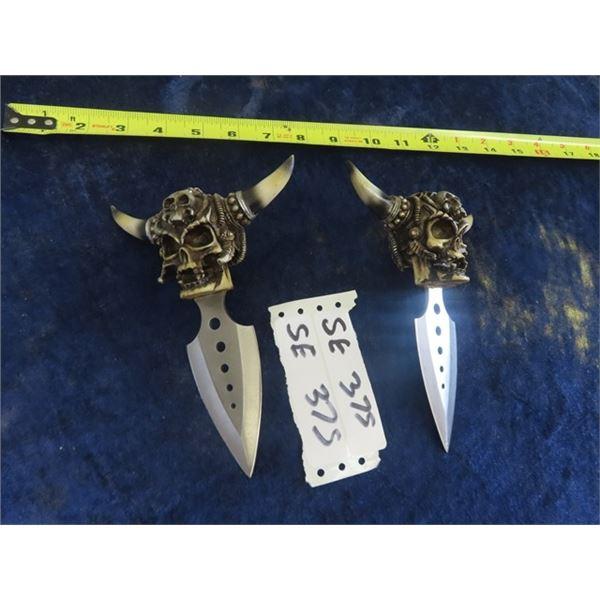 2 Decorative Ceremonial Style Daggers