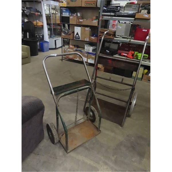 2 Acetylene Carts