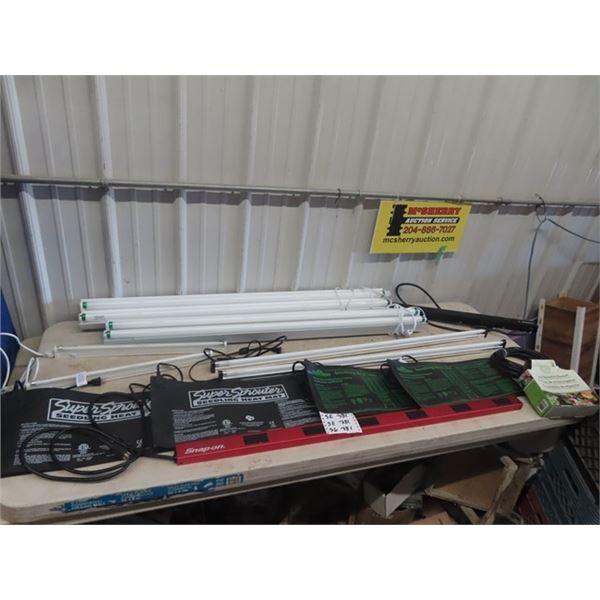 Lights & Heat Pads, & Power Bar