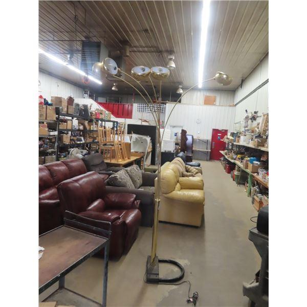 Spider Brass Lamp