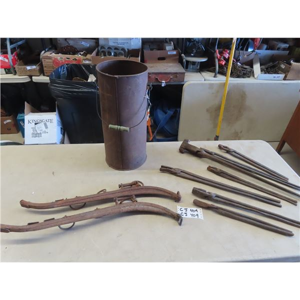 7 Forge Tong's , Set of Haines