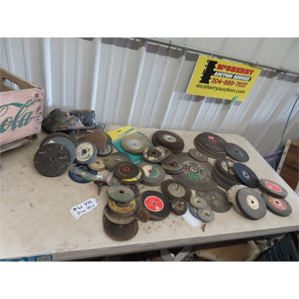 Qty of Grindstones, Wire Wheels & Cutting Discs