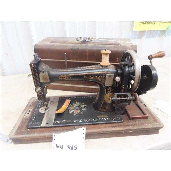 Singer Portable Sewing Machine - Crank Style