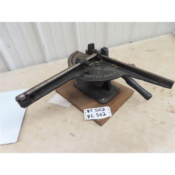VIntage Craftsman Letter Press & Type Setter