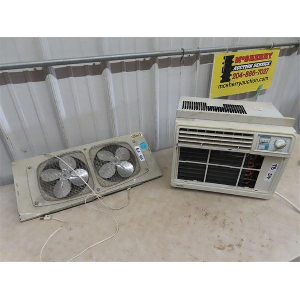Danby Air Cond Unit & Windoe Fan