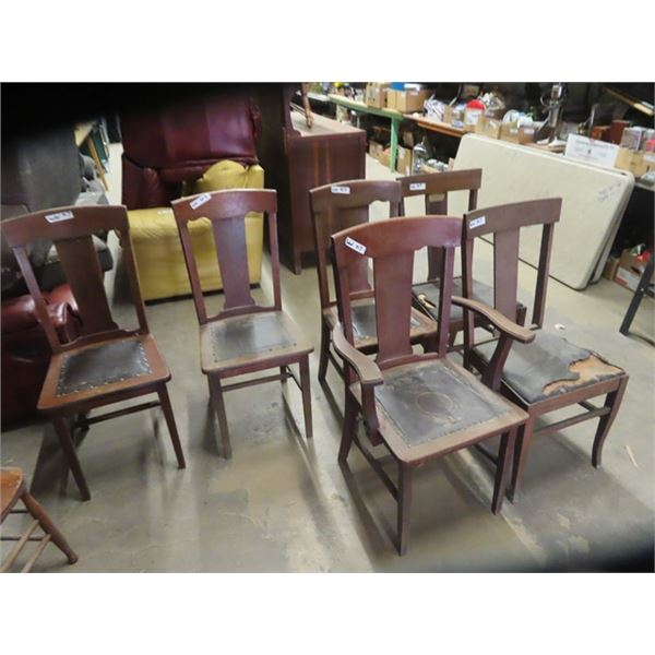 6 Matching DR Chairs