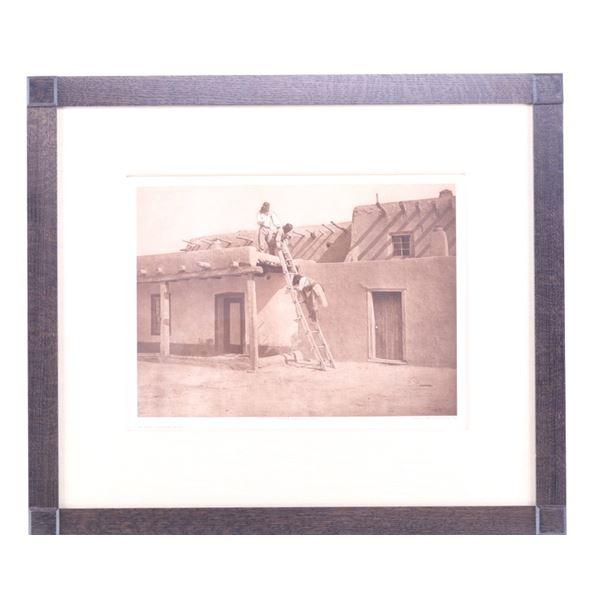 Edward S. Curtis (1868-1952) In San Ildefonso