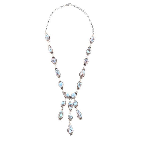 Navajo Bea Tom Golden Hills Turquoise Necklace