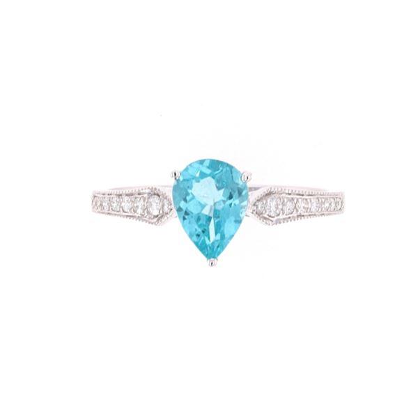 Excellent Appetite Diamond &14k White Gold Ring