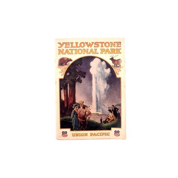 Yellowstone N.P. Union Pacific RR. Guide Book