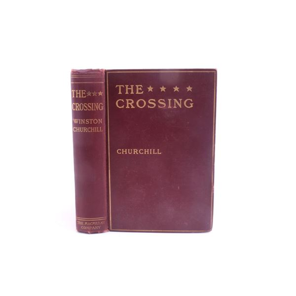 1904 1st Ed. The Crossing Winston Churchill