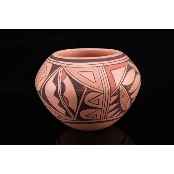 Hopi Acoma Polychrome Pottery Rosalie Kaye Vessel