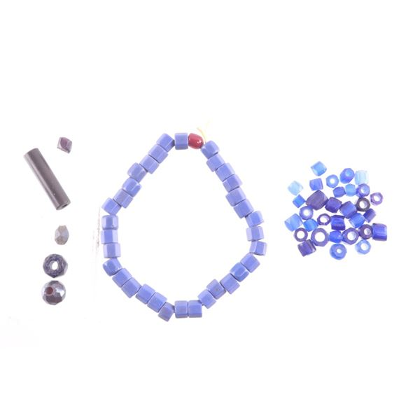 Assorted Ancient Russian Faceted Trade Beads