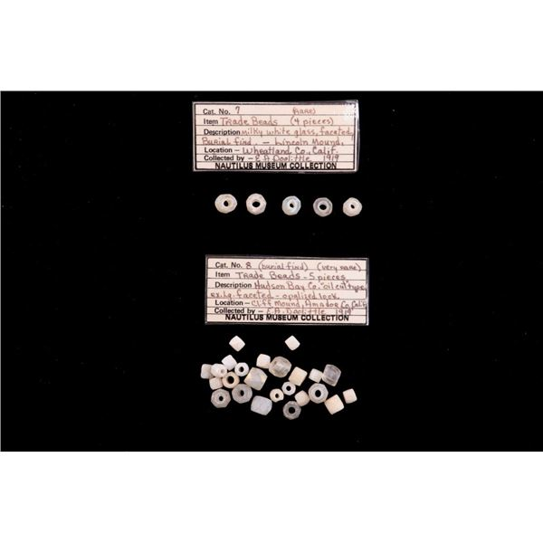 Museum Collection Of Ancient Moonstone Trade Beads