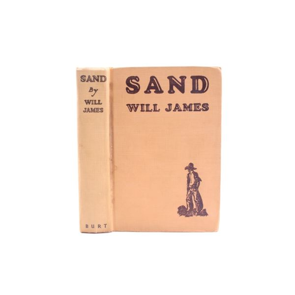 1929 First Edition Sand by Will James