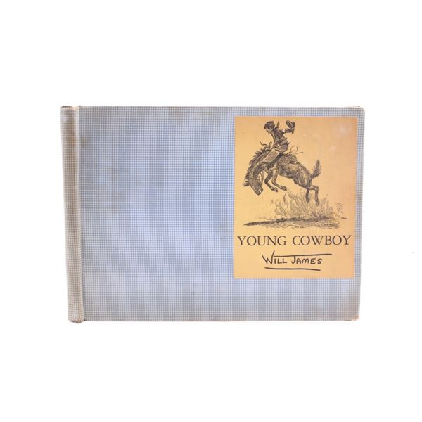 1935 1st Edition Young Cowboy by Will James