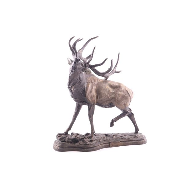 """Limited Ed. """"The Challenge"""" Elk By Dick Idol 2001"""