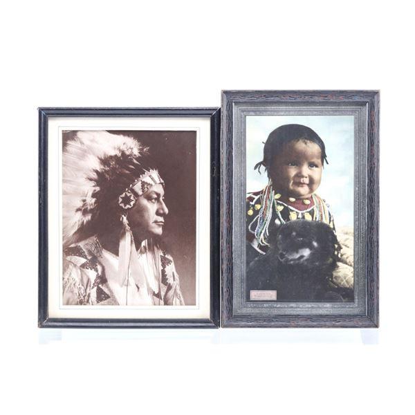 Coeur d'Alene Child & Dog & Chief Photographs