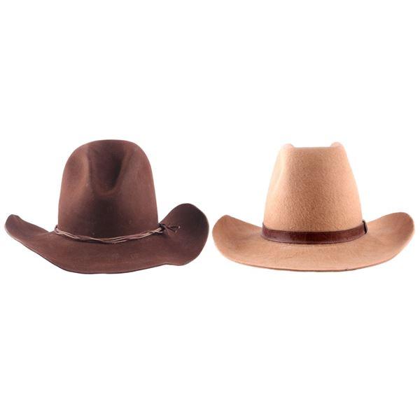 5X Miller Bros & Rodeo King Vintage Cowboy Hats