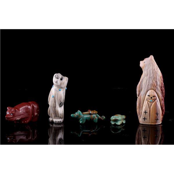 Zuni & Navajo Hand Carved Animal Fetish Collection