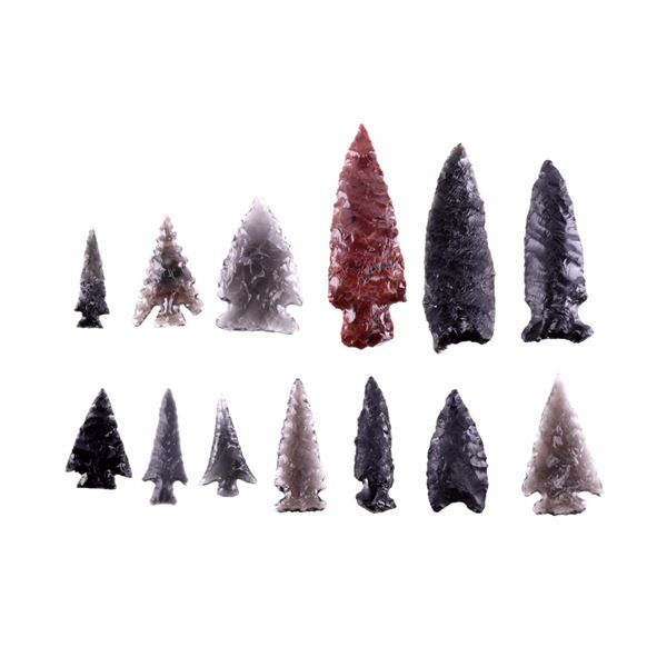 Lake County Oregon Archaic Points Collection