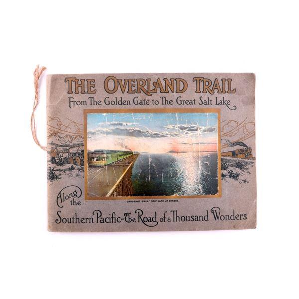 The Overland Trail: Railroad Photo Book c1943