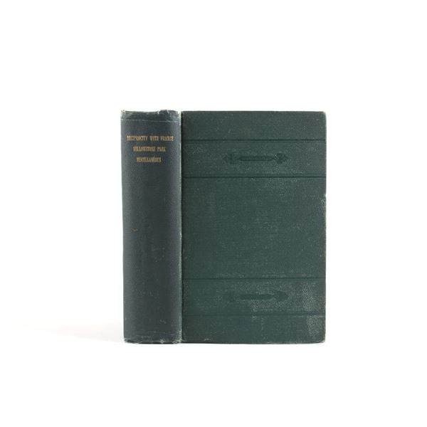 56th Congress 1st Session Document No. 210 C. 1899