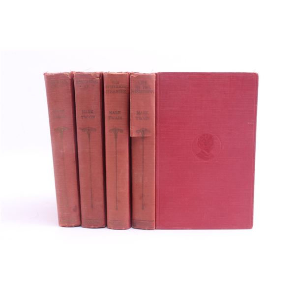 1922 A Collection Of Works By Mark Twain
