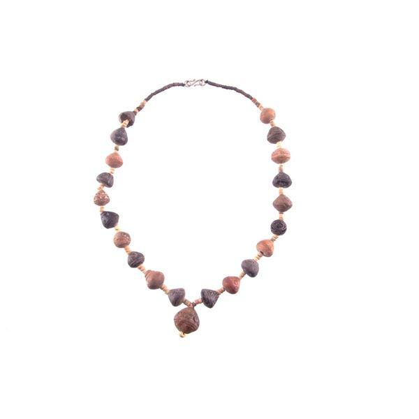 Pre-Columbian Native American Stone Necklace